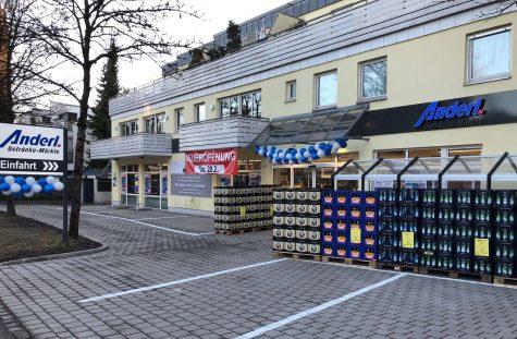 Vermieteter Getränkemarkt in frequentierter Lage, 81479 München, Verkaufsfläche
